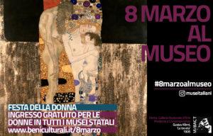 L'8 marzo musei statali gratis per le donne