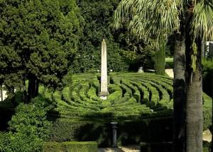 Labirinto nei giardini del Quirinale. Foto da quirinale.it