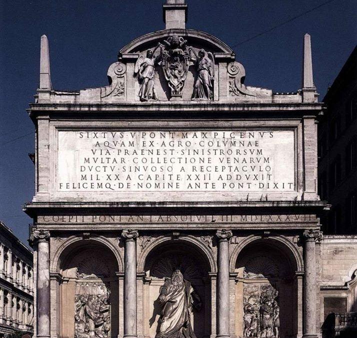 Il Mosè ridicolo e la fontana di piazza San Bernardo