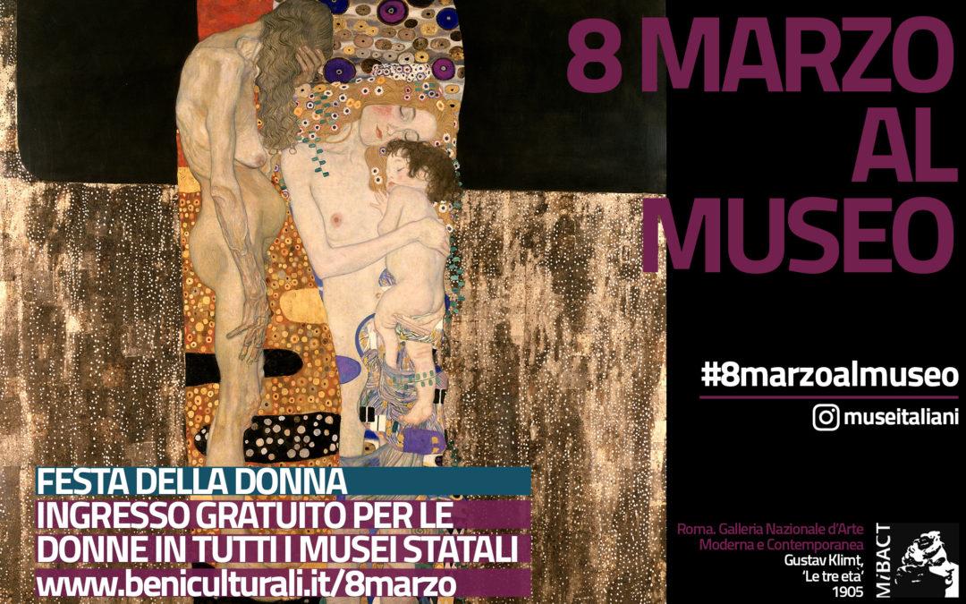 8 marzo: Musei gratis per le Donne!