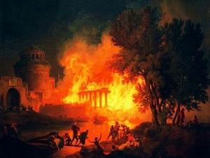 L'incendio neroniano del 64 d.C.  18 – 19 luglio