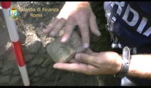 Nuovo sito archeologico a Lanuvio. Erano in corso scavi clandestini…