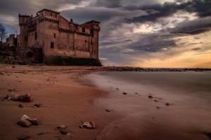 Il castello di Santa Severa presso Roma