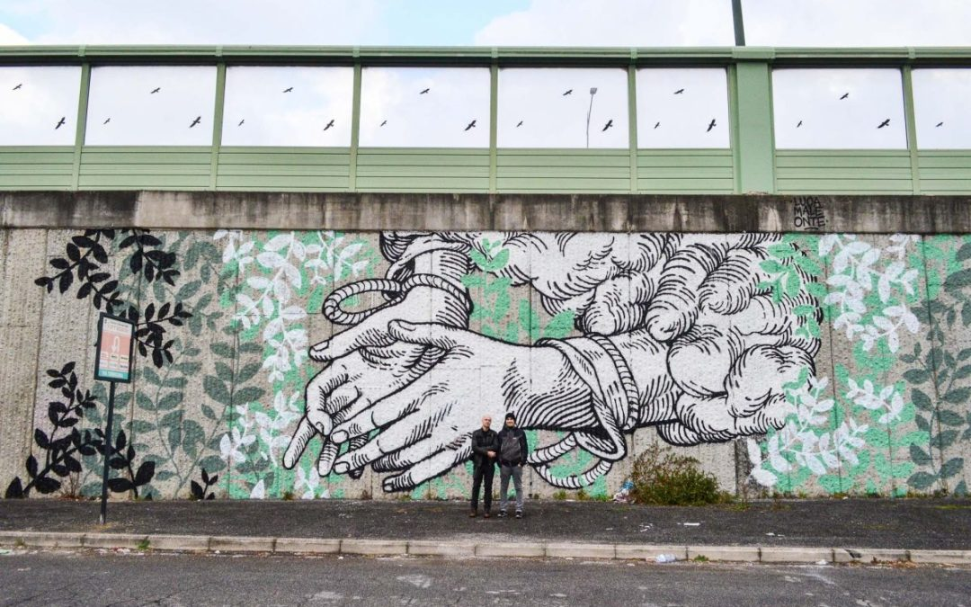 GRAArt: Street Art lungo il Raccordo