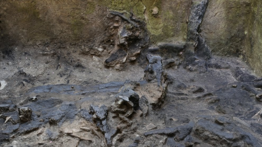 Dagli scavi metro C, una casa imperiale con parti in legno